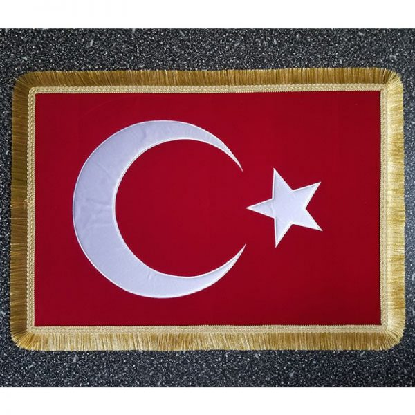 Türk Bayrağı Nakış Sancak