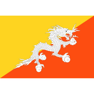 Bhutan Bayrağı