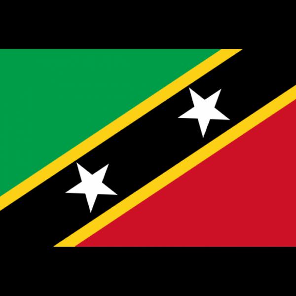 Saint Kitts ve Nevis Bayrağı