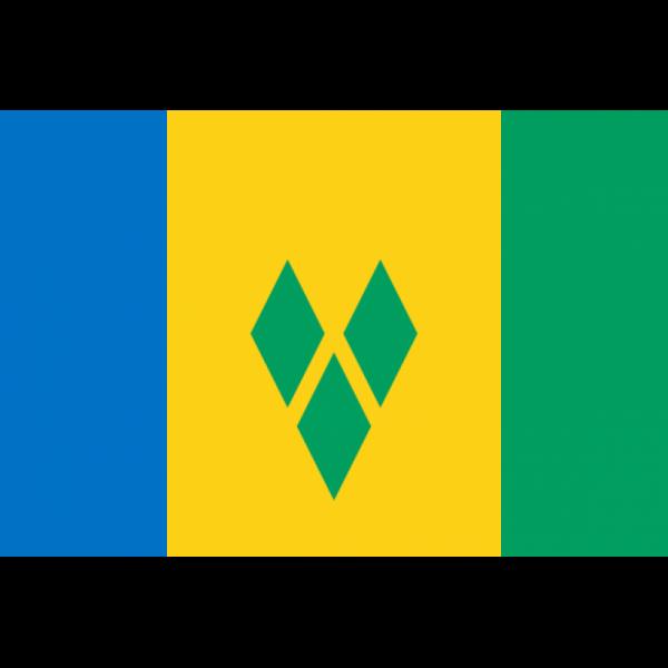 Saint Vincent ve Grenadinler Bayrağı