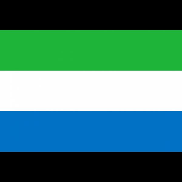 Sierra Leone Bayrağı