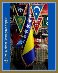 Bosna Hersek Makam Bayrağı