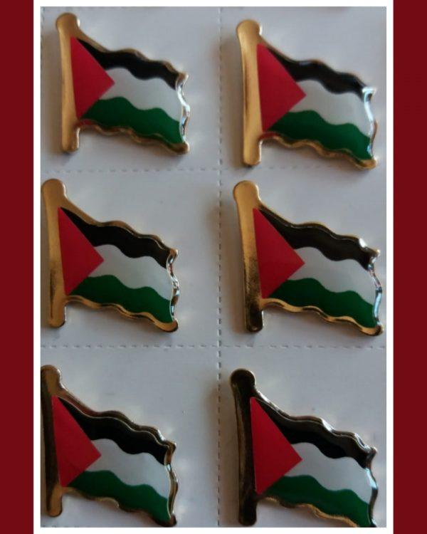 Filistin Bayrağı Rozeti